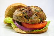 Feta Spinach Turkey Burger