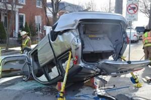 Traffic accident in Ephrata PA