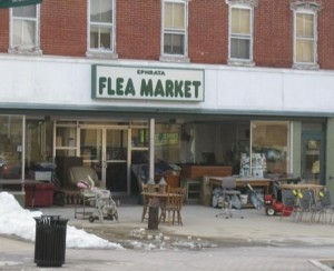 Ephrata Flea Market - downtown pig sty